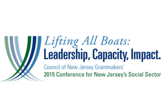 Council of New Jersey Grantmakers Spring Conference 2015